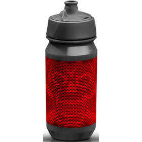 Riesel Design bot:tle 500ml, skull honeycomb red